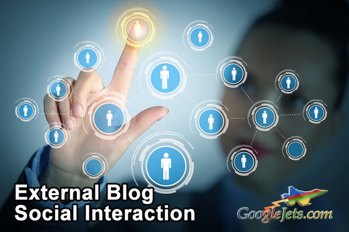 External Blog Social Interaction
