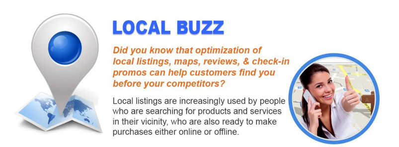 SEO & Local Buzz Package Bonuses